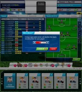 Top Eleven infortuni come prevenire infortuni in Top Eleven Football Manager