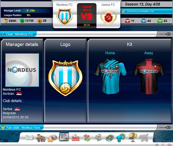 Scopri come personalizzare la squadra in Top Eleven Football Manager